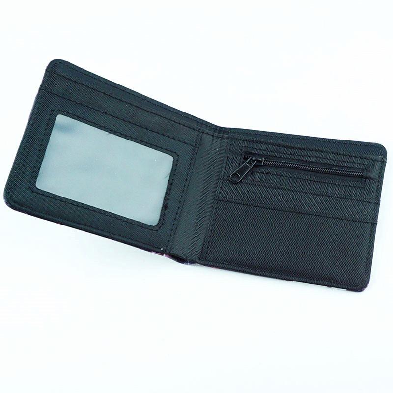 couro do plutônio bolsa cosplay curto carteiras presente