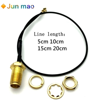 5pcs SMA Connector Cable Female to uFL/u.FL/IPX/IPEX RF Connector Coax Adapter Assembly RG178 Pigtail Cable 1.13mm IPEX turn SMA image