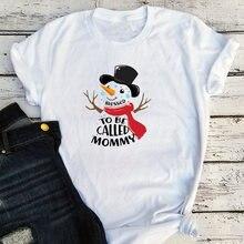 Женские футболки большого размера с рисунком снеговика blessed