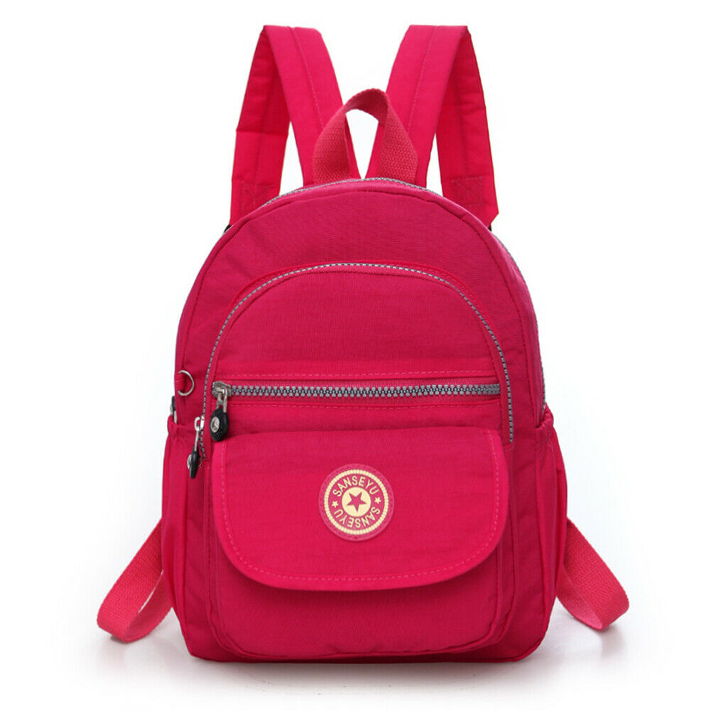 Casual Women's Anti-theft Backpack Simple Solid College Style School Bag Fashion Travel Shoulder Bag