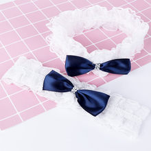 Baby Ribbon Bow Headband Girls Infant White Lace Hairband Turban Newborn Lovely Hair Accessories Haarband(China)