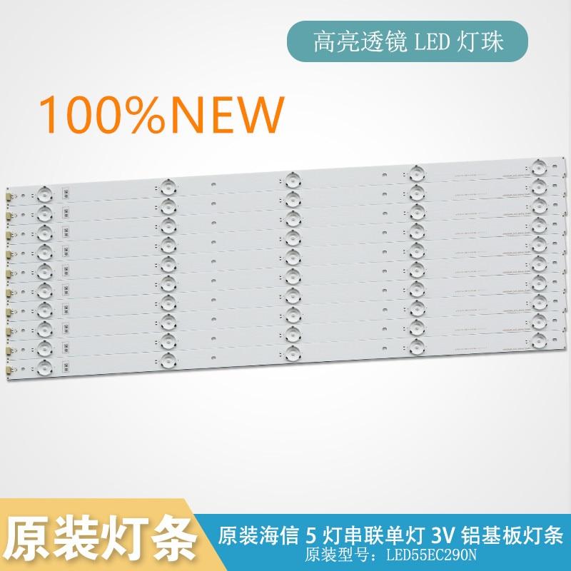 10pcs/set Original Backlight  Led Lamp Bar For Hisense LED 55EC290N Led Strip SVH550AH9-5LED_REV04_150409 Set Price Led Lighting