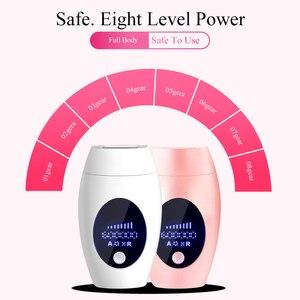 Image 3 - 600000 Flash Ipl Laser Hair Removal Machine Permanent LED Laser Epilator Precision Clipper For  Bikini,Body,Face,Underarm