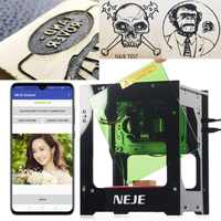 NEJE DK-8-KZ 1000/3000mW Professional DIY Desktop Mini CNC Laser Engraver Cutter Engraving Wood Cutting Machine Router