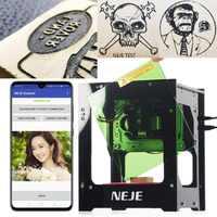 NEJE DK-8-KZ 1000/3000mW professionnel bricolage bureau Mini CNC Laser graveur Cutter gravure bois Machine de découpe routeur