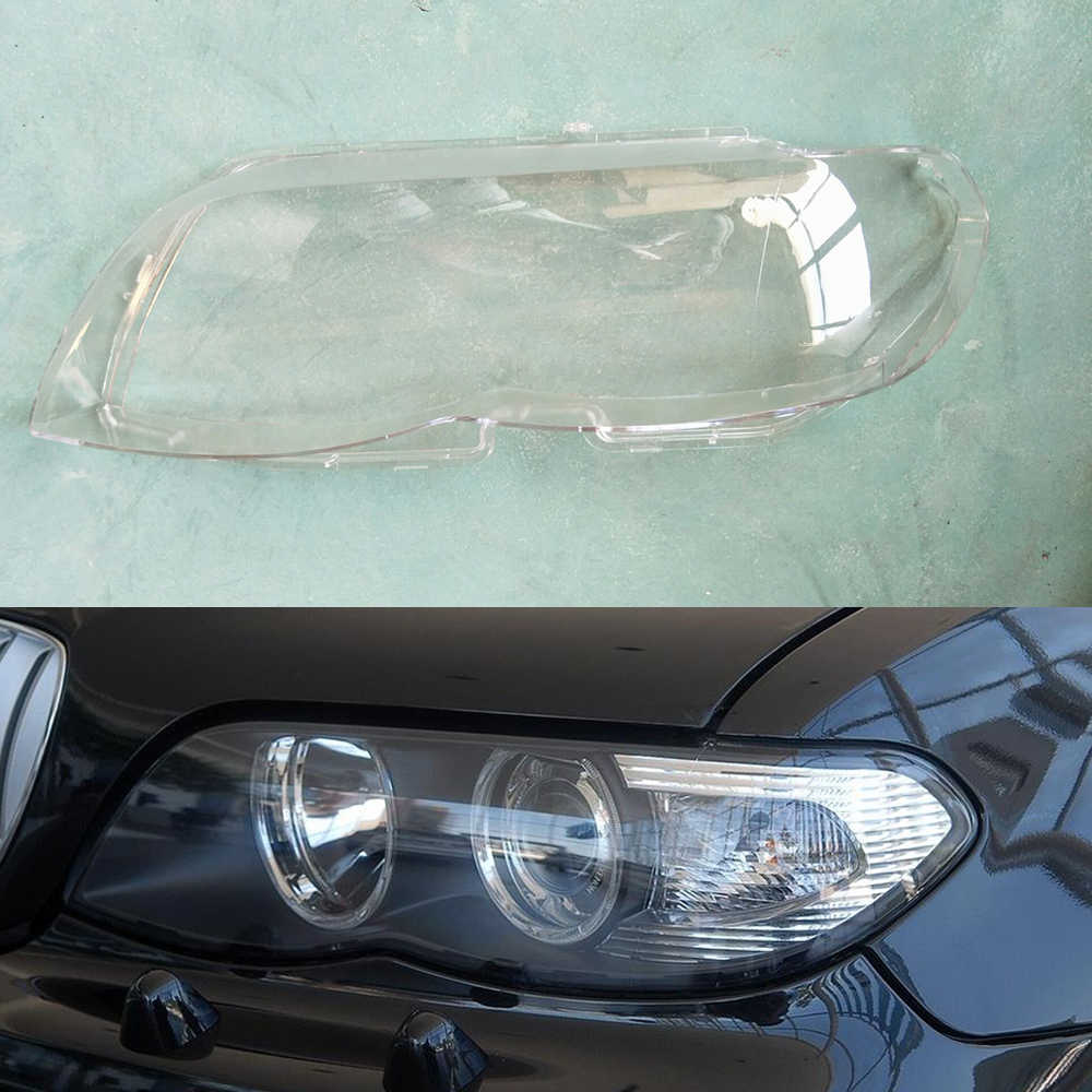 Car Headlight Lens For Bmw X5 E53 2004 2005 2006 2007 Car Headlight Headlamp Lens Auto Shell Cover Driver Passenger Side Aliexpress