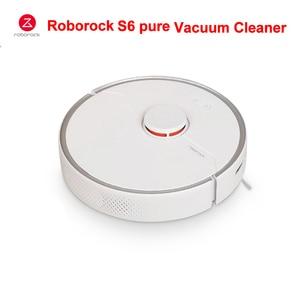 Roborock S6 czysty odkurzacz automatyczny Smart Cleaner mokry mopem dywan pył Robot odkurzający Robotic aplikacja bezprzewodowa kontrola domu