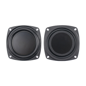 Image 3 - Nouveau 2 pièces 3 pouces 78MM basse radiateur haut parleur passif pour 2 5 pouces maison Bluetooth haut parleurs auxiliaire basse fréquence en caoutchouc bricolage