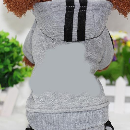 PUOUPUOU Winter Warm Pet Dog Clothes Hoodies Sweatshirt for Small Medium Dogs French Bulldog Sweet Puppy Dog Clothing XS-XXL 15