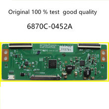 1pcs / lot free shipping original 100 % test LED LCD TV logic board T-con BOAR FOR LG LC500DUE-SFR1 6870C-0452A(China)