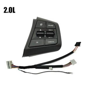 Image 4 - Steering Wheel Cruise Control Button Switch For Hyundai Creta Ix25 1.6L 2.0L Remote Control Volume Button Right Side Blue Light
