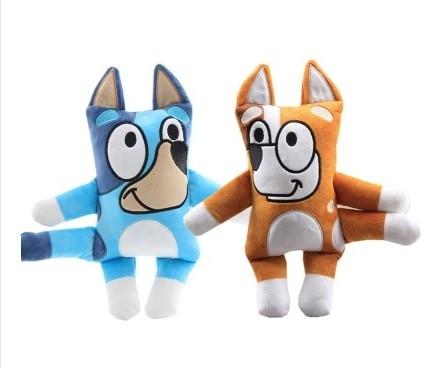 2020 New Arrivial 30cm Cartoon Bluey Bingo The Dog Stuffed Soft  Plush Doll  For Children Baby Birthday Gift