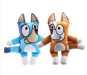 2020 new arrivial 30cm Cartoon Bluey Bingo The Dog stuffed soft Plush Doll for children baby birthday gift(China)