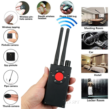 Dual Antenna G528 Anti Candid Hidden Camera Detector RF Signal Secret GPS Audio GSM Mobile Phone Wifi Pinhole Cam Spy Bug Finder 2