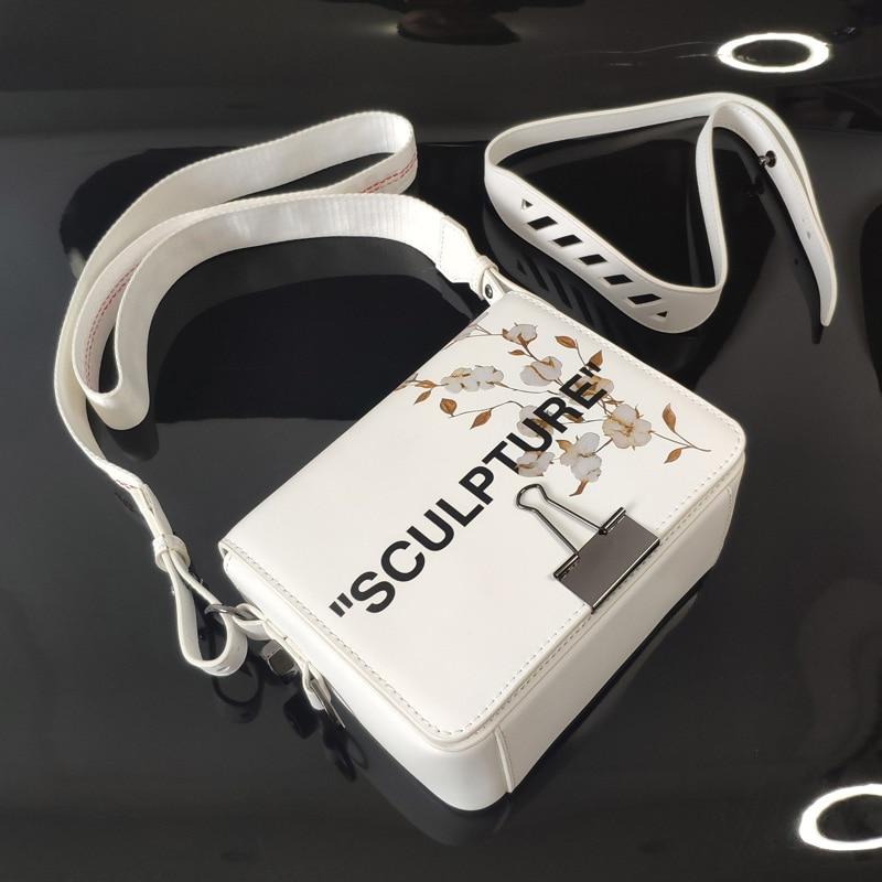Fashion Luxury Brand Style Bags Women Handbag Crossbody Messenger Bag Flap Genuine Leather Top Quality Floral Clip Designer