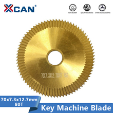 Blade Key-Machine Cutting-Locksmith XCAN for 70x7.3x12.7mm High-Speed 80T
