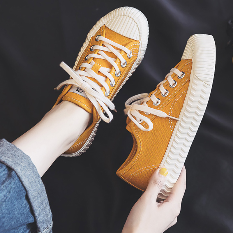 Women Casual Shoes Woman Summer Canvas Sneakers Superstar Classic Fashion Womens Sneaker Lace Up Comfort Vulcanize Shoes