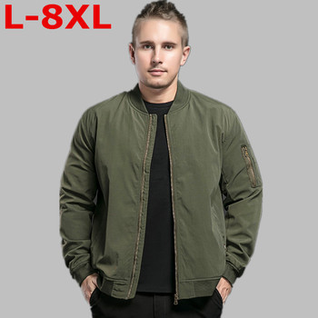 new PLUS SIZE 8XL 7XL Brand Jacket Men Clothes Trend College Slim Fit High-Quality Casual Mens Jackets And Coats