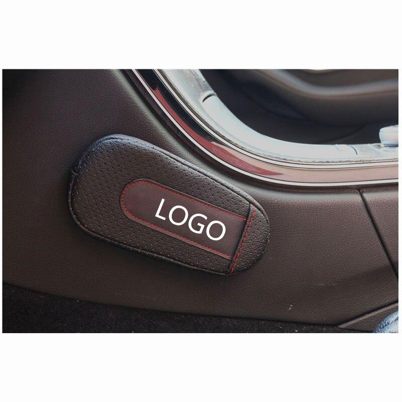 cheapest Fiber leather car seat anti-kick anti-kick mat for SAAB 9-3 93 9-5 9 3 9000 9 5 Non Slip Mat Dashboard Pad Car Accessories