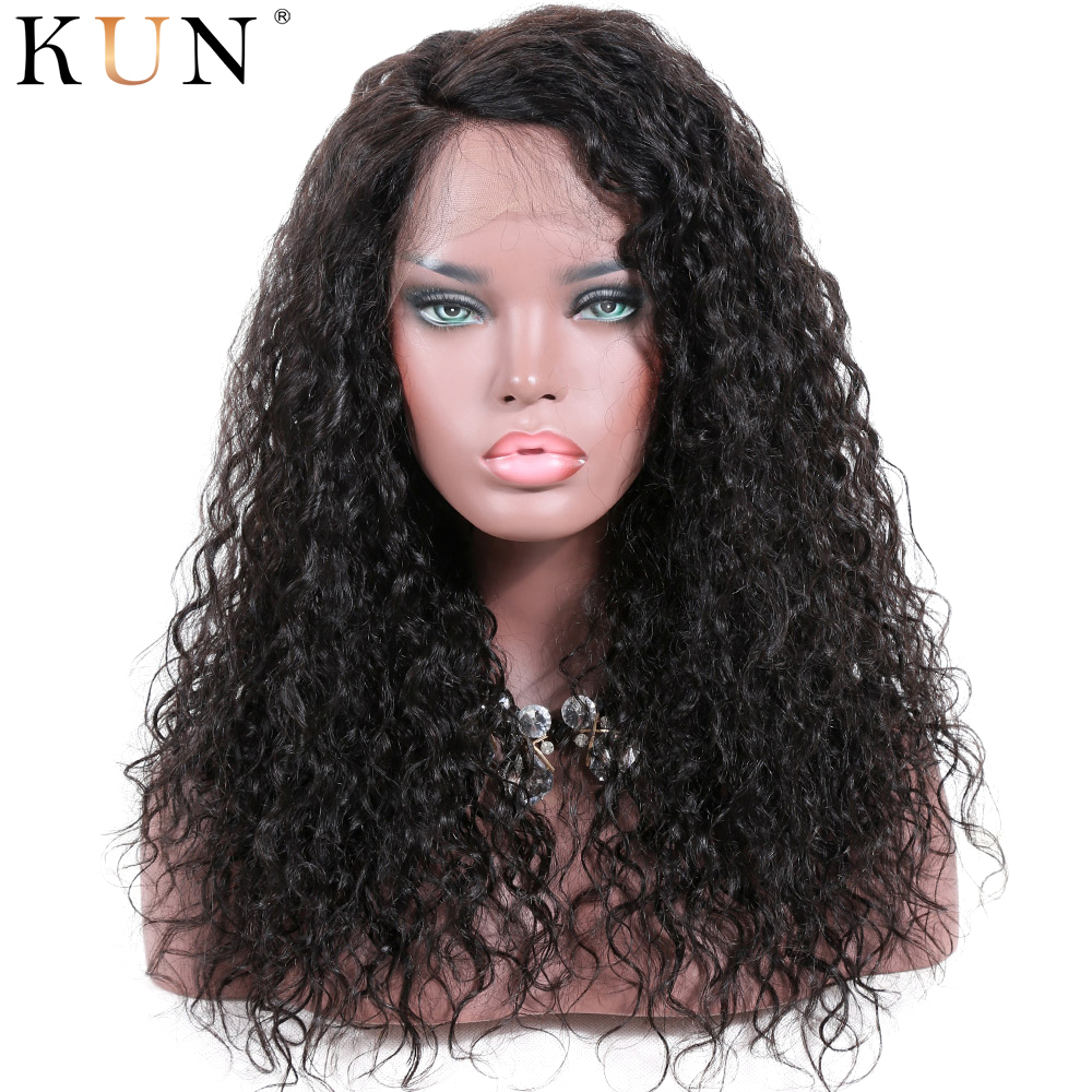 Lace Front Human Hair Wigs Natural Curly Brazilian Remy13x4 13x6 Lace Front Wig Pre Plucked 150 180% Density Lace Front Wig