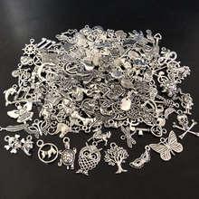 50 sztuk mieszane Vintage Metal zwierząt ptaki wisiorki koraliki do tworzenia biżuterii DIY bransoletka wisiorek akcesoria akcesoria akcesoria