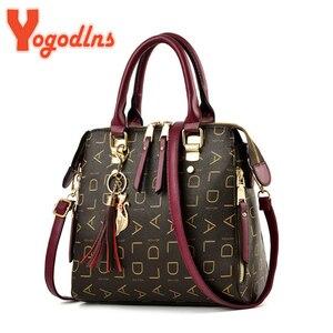 Yogodlns Female shoulder bags for women 2020 New fashion crossbody bag luxury handbags women bags designer travel Tassel bag
