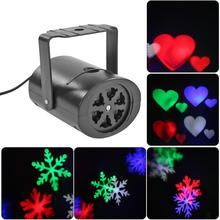 6 mode patterns snowflake light outdoor led landscape film light xmas laser projector moving sparkling led wall lamp stage light Waterproof Moving Laser Projector Lamps 2/4 Patterns LED Stage Light For Christmas New year Party Light Landscape Garden Lamp