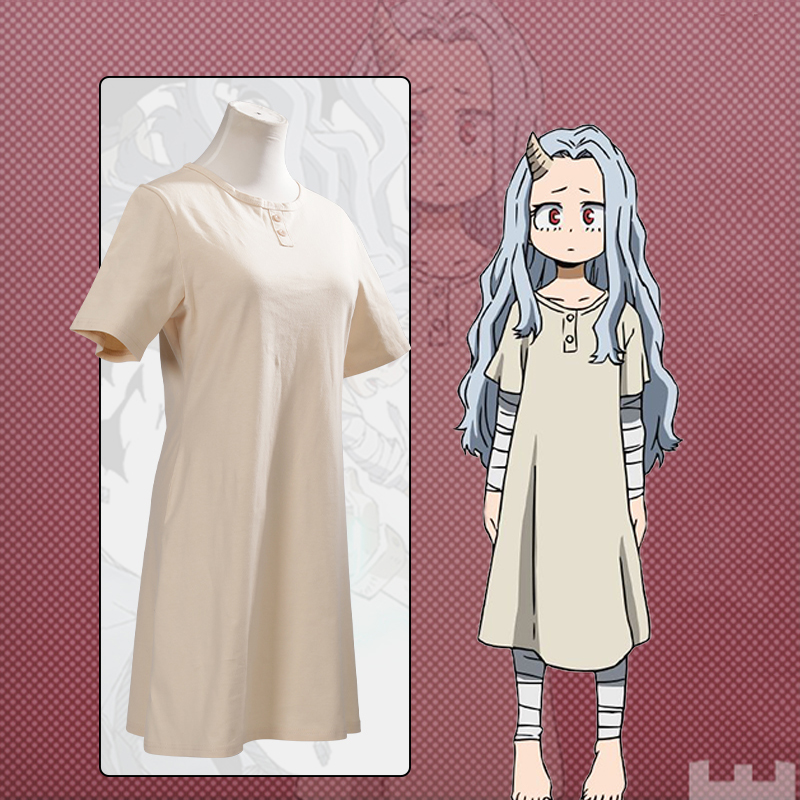 Anime Comic My Hero Academia Cosplay Costumes Eri Cosplay Costume Long Dresses Clothes Uniforms For Women Adult Suits Hot
