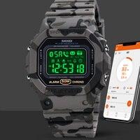 Moda Smart Watch donna frequenza cardiaca pressione sanguigna orologio sportivo multifunzionale uomo donna Smartwatch impermeabile donna SKMEI