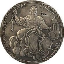 Итальянские Штаты 1823 1 Scudo-Leo XII Sede Vacante копии монет