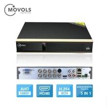 MOVOLS enregistreur vidéo DVR, 16 canaux, 8 canaux, pour caméra analogique AHD, caméra IP Onvif P2P 1080P