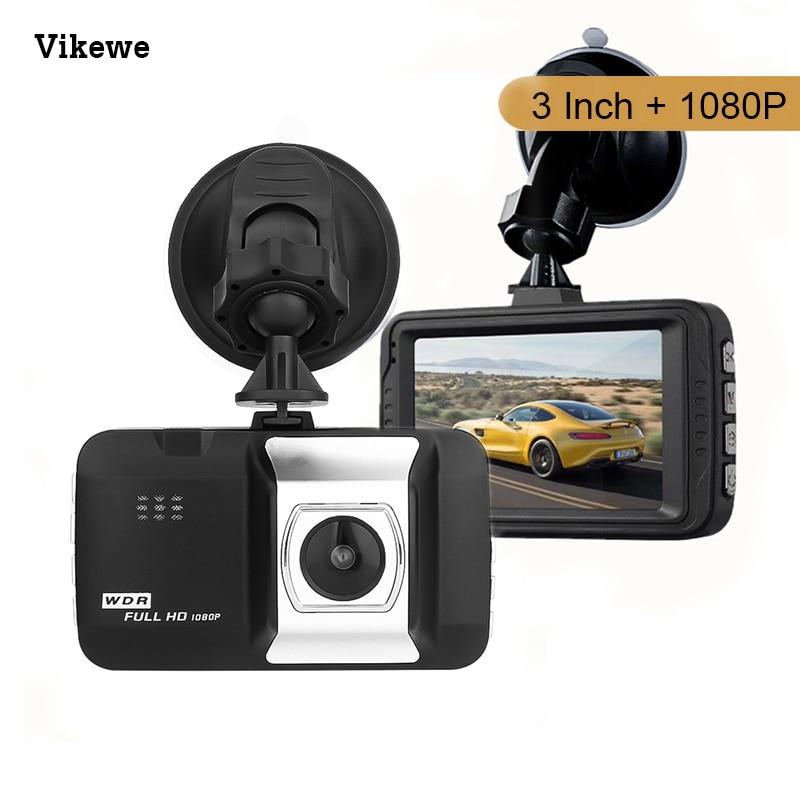 Vikewe Car Dvrs Mini Camera Dash Cam 3.0 Inch Full HD 1080P Auto Registrator Digital Video Recorder Camcorder
