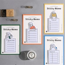 30 sheets Post Time Managers Series Message Memo Sticky Note Creative Stationery Office School Supplies Accessories