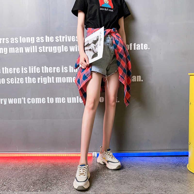 VMTI 2020 パパ靴女性の夏新メッシュ通気性カジュアルシューズ厚い唯一学生野生スニーカー女性 Tenis Feminino