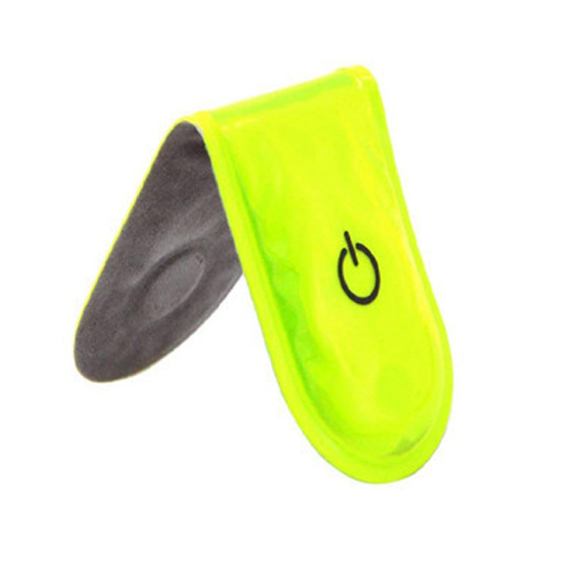 LED Safety Light Reflective Magnet Clip On Strobe Running Bike Cycling Fashion