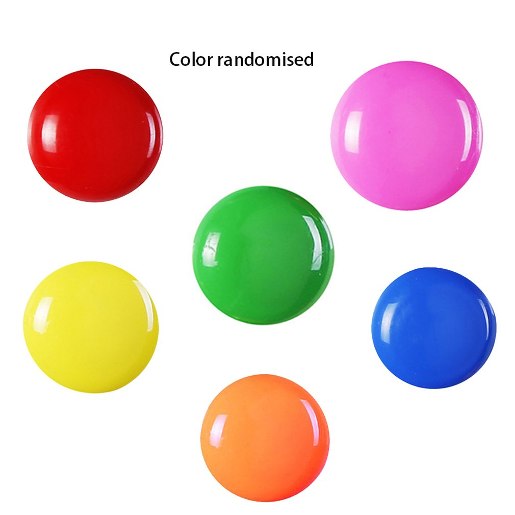 Round Refrigerator Fridge Magnets Whiteboard Magnetic Pin Buttons Sticker for Office School Home Room DIY Decoration