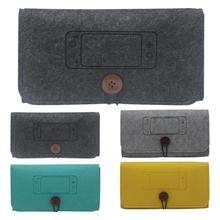 Game Console Protective Case Fashionable Felt Storage Bag Shock Proof Good Carrying Bag for Nintend Switch Lite Console