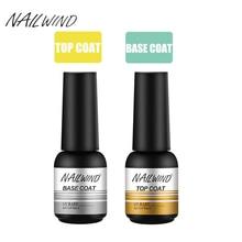 Coat Top-Base Uv-Gel-Nail-Polish NAILWIND Manicure-Set Shiny Soak-Off 8ml 2pcs/Set