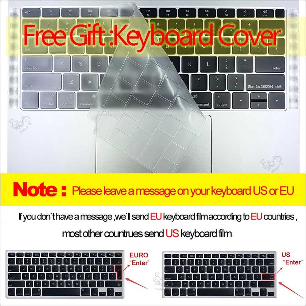 Nowa odznaka nietoperza dla MacBook Case pokrowiec na laptopa do MacBook Retina Air Pro 11 12 13 15 13.3 15.4 Cal Torba A2159
