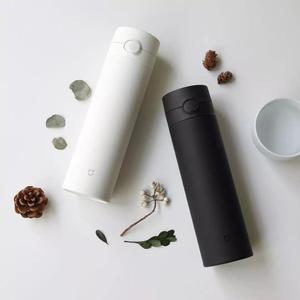 Image 3 - Orijinal Xiao mi mi ev termos bardak 2 paslanmaz çelik vakum 480ml kapasiteli seyahat taşınabilir su bardağı yalıtım kilidi 0306 #