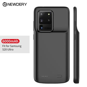 Newest black Charging case for Samsung Galaxy S20 ,S20+ ,S20 Ultra portable power bank battery case for Galaxy S20 S20 Plus фото