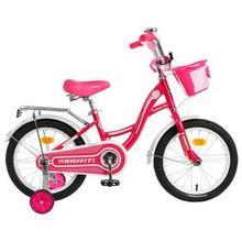 Велосипед 16' Graffiti Premium Girl, цвет розовый/белый