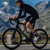 Rcc raphp inverno velo térmico bicicleta manga longa camisa de ciclismo roupas dos homens pro equipe ao ar livre roupas ropa ciclismo|Camisetas p/ ciclismo| |  -