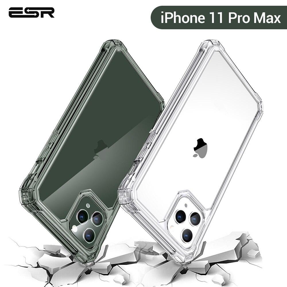 ESR Caso Claro para o iphone 11 Pro Max 11Pro 2019 Macio TPU de Proteção Canto Fortalecer Drop-Prova À Prova de Choque Capa para iphone 11