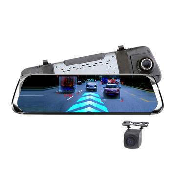Car DVR Camera 1080P Full Touch Screen Bluetooth WiFi 4G Android Dash Cam Rear View Video Recorder Registrar for Phisung E08 plu image