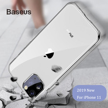 Baseus Case Cover For iPhone 11 Pro Max Anti-Fall TPU Slim Transparent Back Silicone Coque funda