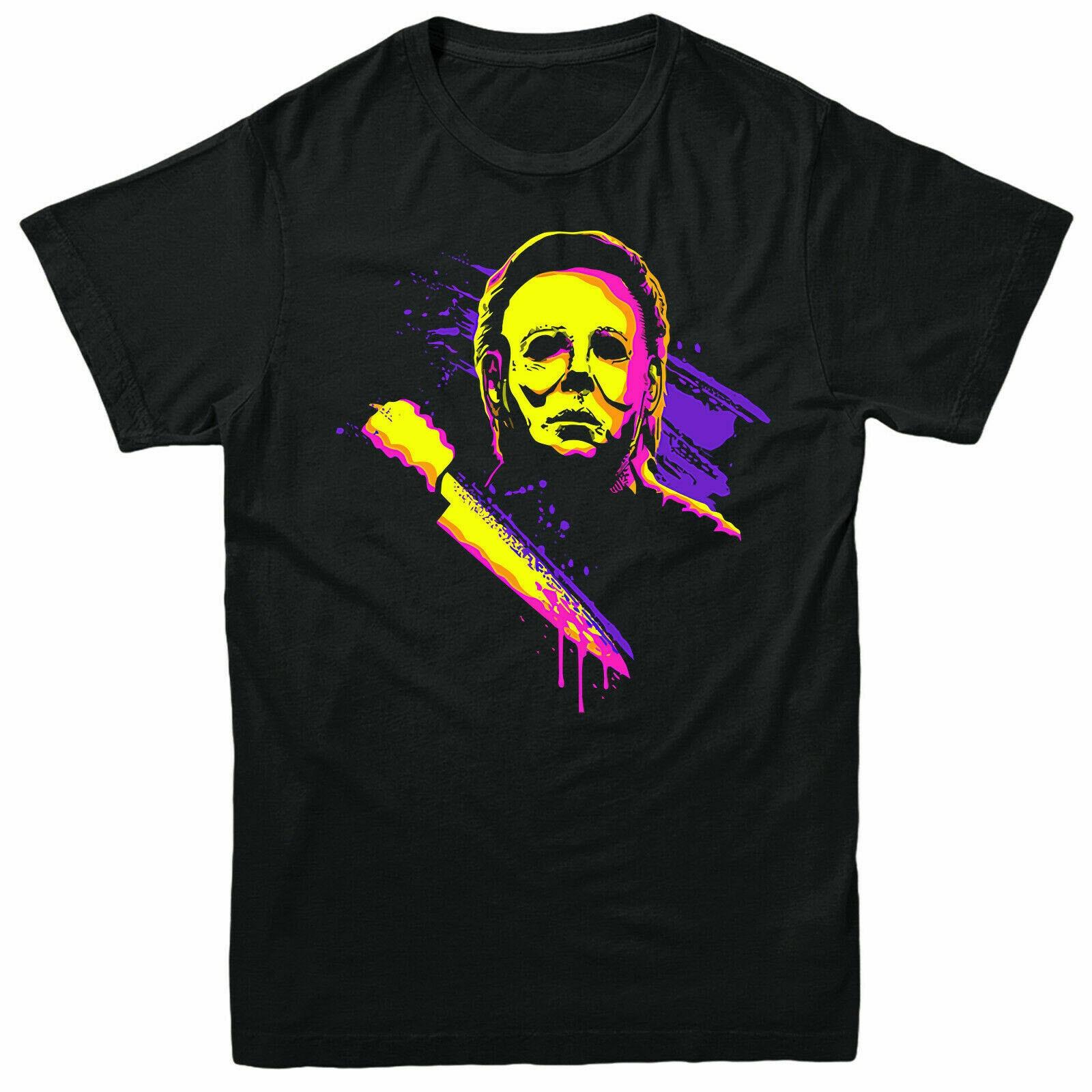 Retro Art Fictional Serial Killer Gift Jumper Top Michael Myers Sweatshirt