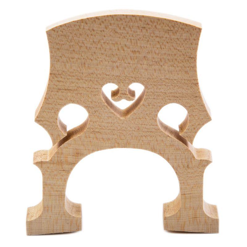 Dropship-Professional Cello Bridge For Cello Exquisite Maple Material 1/4 3/4 4/4 1/2 1/8 Size