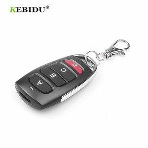 Image 5 - KEBIDU 4 כפתור שיבוט שיבוט להעתיק 433mhz חשמלי דלת מוסך שלט רחוק מעתק מפתח מרחוק בקר מתג