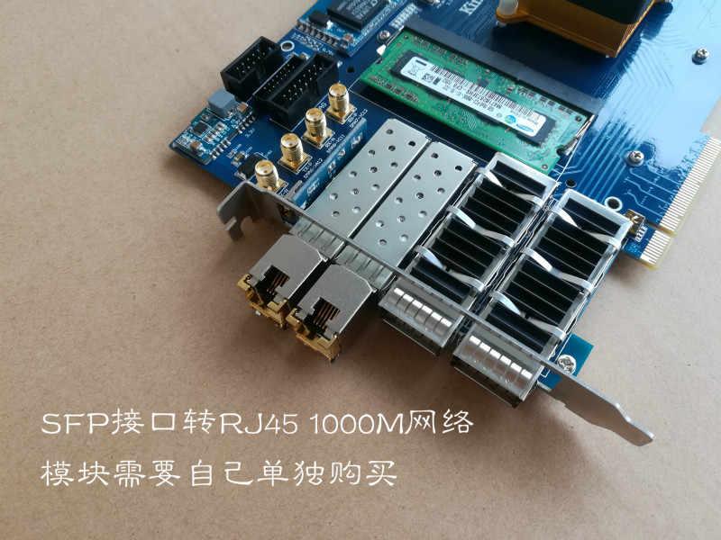 Xilinx Papan Xilinx FPGA PCIe Papan Xilixn FPGA Papan Pengembangan PCIe Papan KINTEX 7 XC7K420T XC7K325T Xilinx PCIe Papan